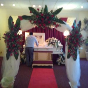 Funeral Arch Flowers