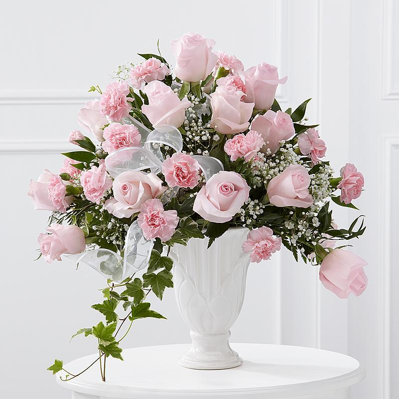 Pink Funeral Urn